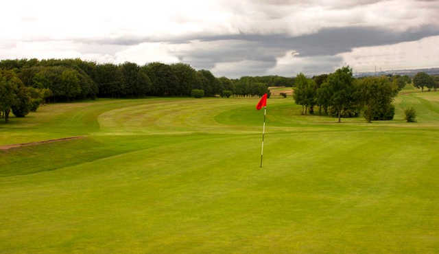A view of the 10th green at Boldon Golf Club