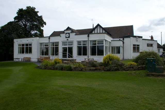 A view of the clubhouse at City of Newcastle Golf Club