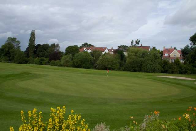 A view of a green at City of Newcastle Golf Club.