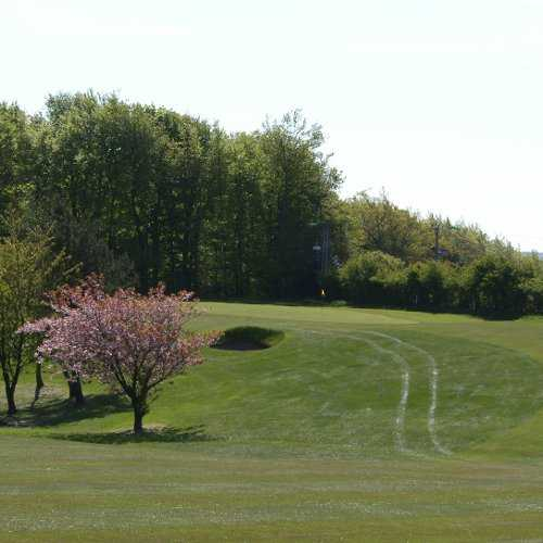 A view from fairway #5 at Garesfield Golf Club