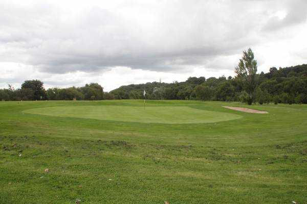 A view of the 3rd green at Ryton Golf Club