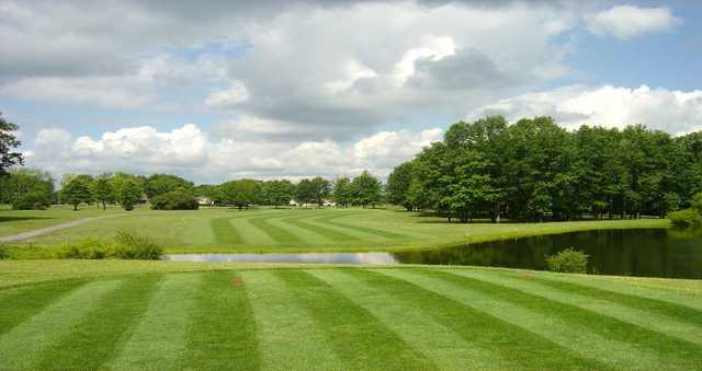 View of the 11th hole at Bedford Trails Golf Course