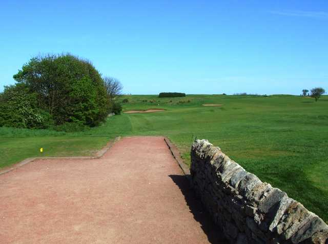 A view from tee #1 at South Shields Golf Club