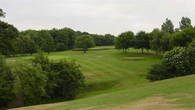 A view of a fairway at Whickham Golf Club