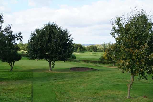 A view from Bramcote Waters Golf Club