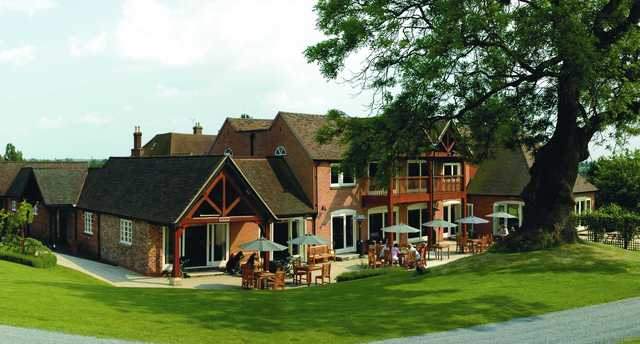 A view of the clubhouse at Henley Golf & Country Club