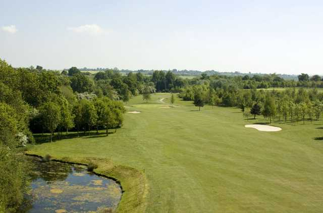 A view of fairway #7 at The Stratford Park Hotel & Golf Club