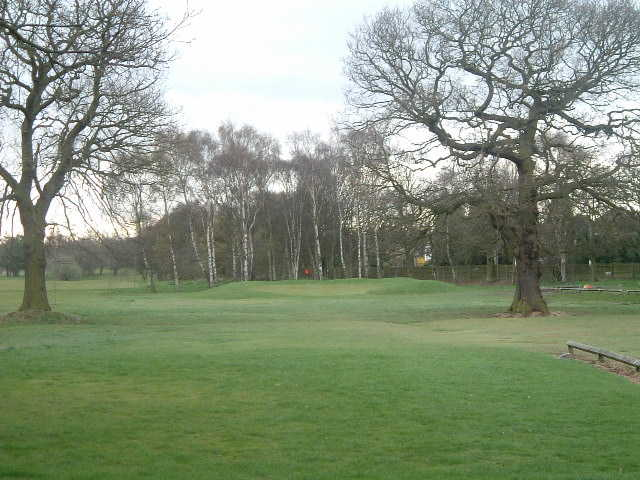 A view from fairway #4 at Boldmere Golf Club