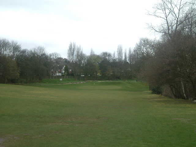 A view from the 18th fairway at Boldmere Golf Club