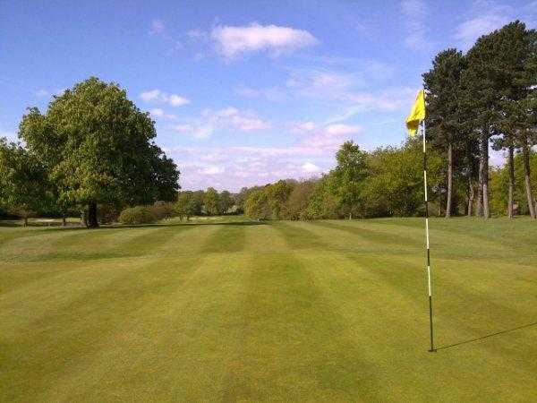 A view of hole #6 at Edgbaston Golf Club