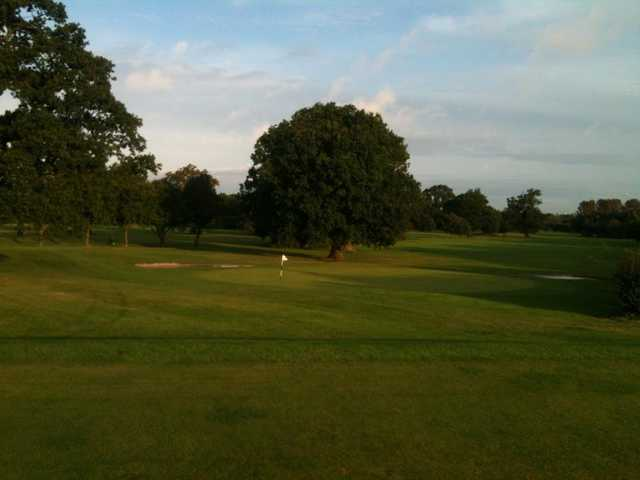 A view of a green at Hatchford Brook Golf Course