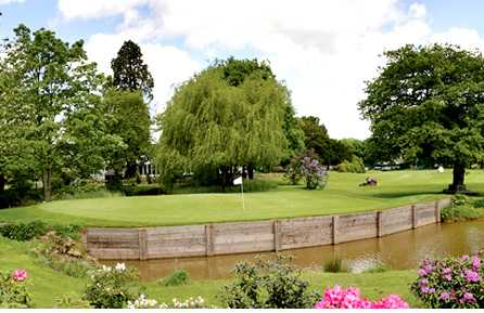 A view of a green at Nailcote Hall Golf & Country Club