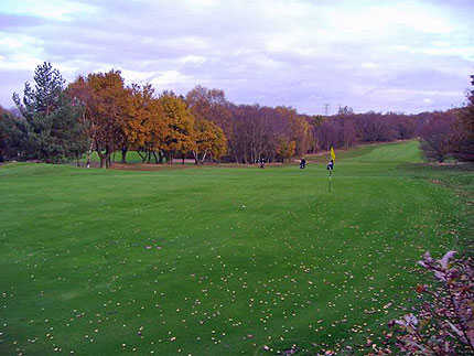 A view of the 15th hole at Sandwell Park Golf Club