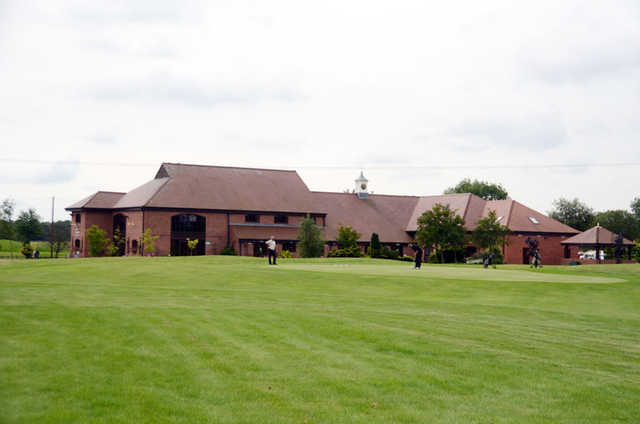 A view of the clubhouse at Stonebridge Golf Club