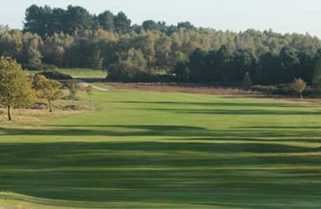 A view of a fairway at Sutton Coldfield Golf Club