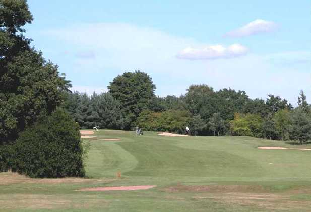 A view from fairway #3 at Walmley Golf Club