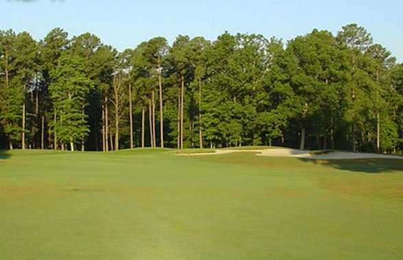 View of the 2nd hole from the Cardinal course at Newport News Golf Club