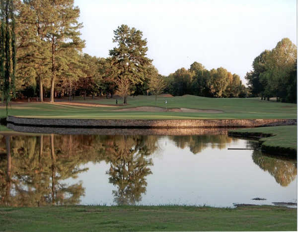 A view of hole #2 at Deep Springs Country Club