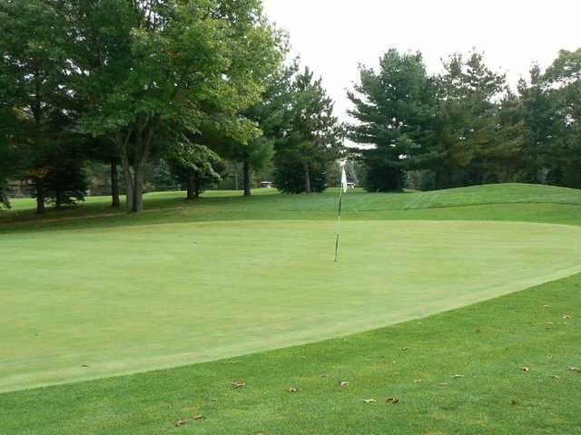 View of a green at White Lake Country Club