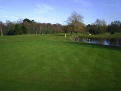 A view of the 3rd green at Effingham Park Golf Course