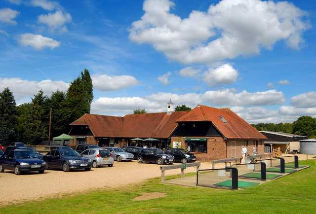 A view of the clubhouse at Foxbridge Golf Club
