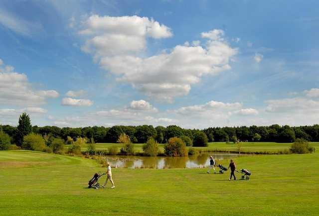 A view of a fairway at Foxbridge Golf Club