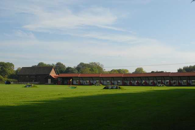 A view of the driving range at Horsham Golf Club.