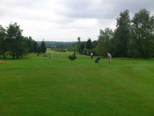 A view from Lindfield Golf Club