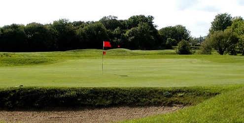 A view of hole #16 at Littlehampton Golf Club