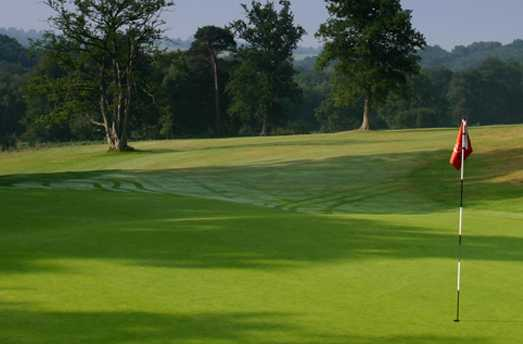 A view of hole #10 at Kingfisher Course from Mannings Heath Golf Club