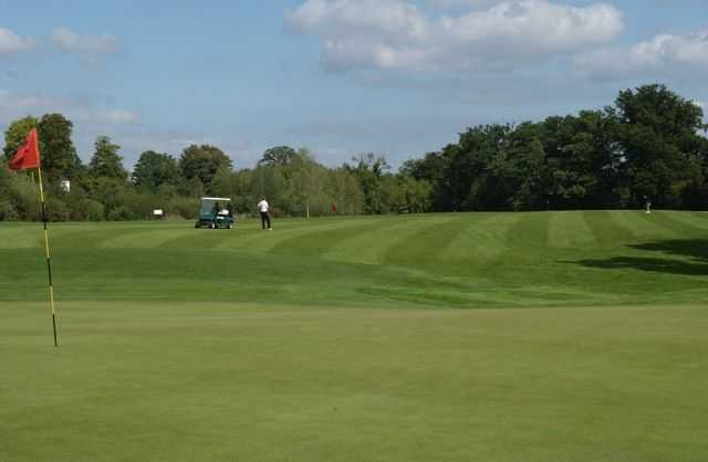 A view of the 14th hole at Rookwood Golf Course