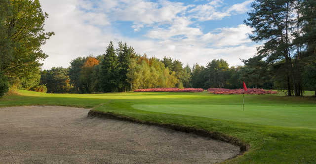 A view of the 2nd green at Championship Course from Tilgate Forest Golf Club