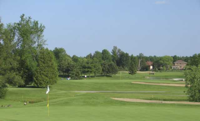 View of a green at Amberwood Village Golf and Country Club