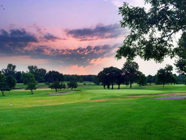View from the Crossroads course at Majestic Oaks