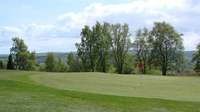 A view of a green at Branshaw Golf Club