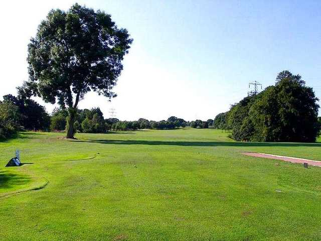 A view from tee #1 at Crow Nest Park Golf Club