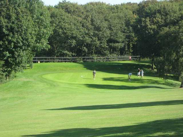 A view from fairway #5 at Dewsbury District Golf Club