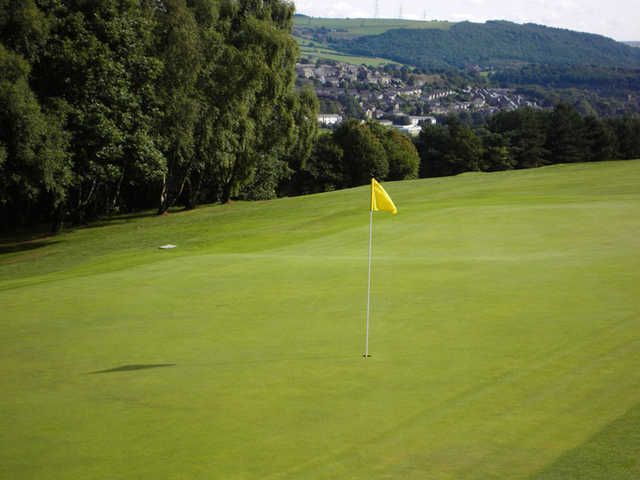 A view of hole #3 at Halifax Bradley Hall Golf Club