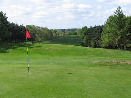 A view of hole #14 at Headingley Golf Club