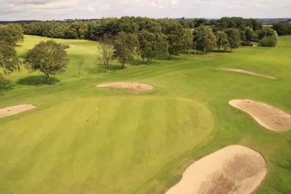 View from Horsforth's 3rd hole