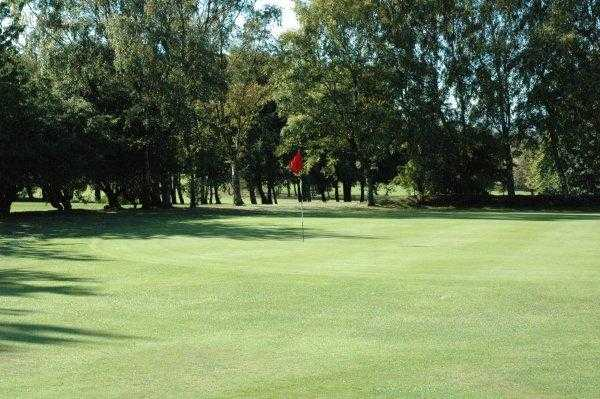 A view of the 10th hole at Howley Hall Golf Club