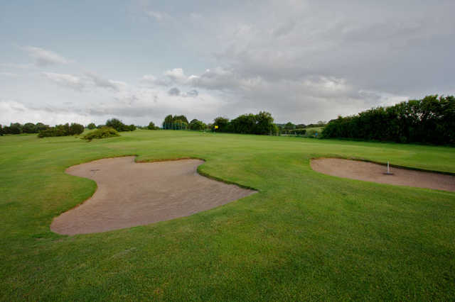 A view of the 11th green at Oaks Course from Leeds Golf Centre