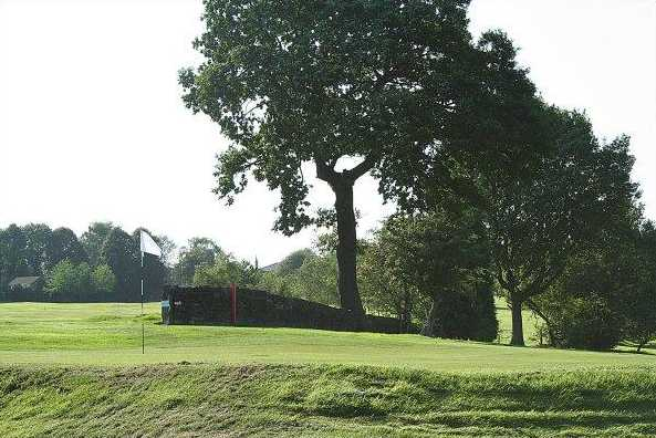 A view of the 5th green at Lightcliffe Golf Club