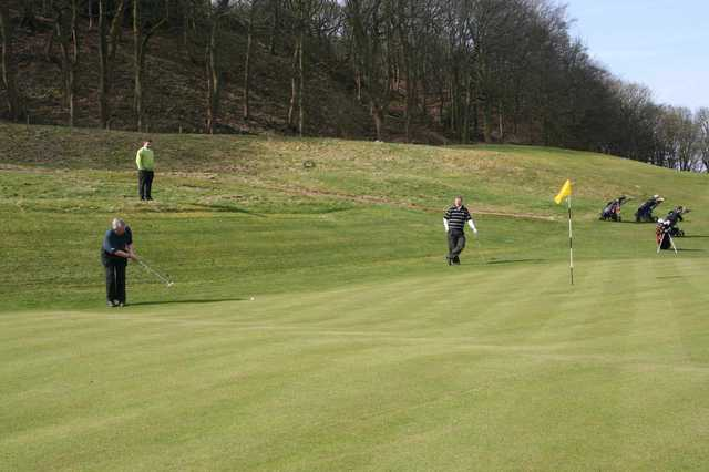 A view of the 7th hole at Outlane Golf Club