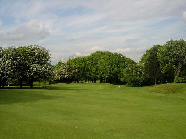 A view from fairway #17 at Pontefract & District Golf Club