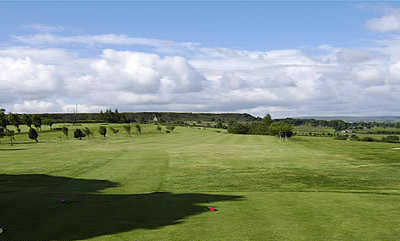 A view of the 5th fairway at Ryburn Golf Club
