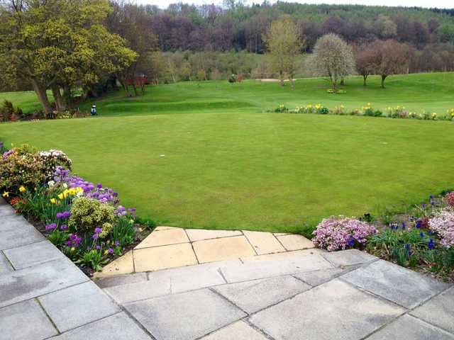 A view from Shipley Golf Club