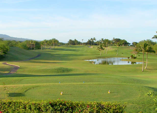 View from Maui Nui Golf Club
