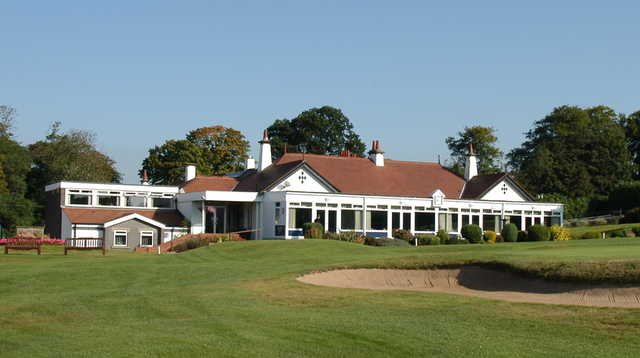 A view of the clubhouse at Wakefield Golf Club