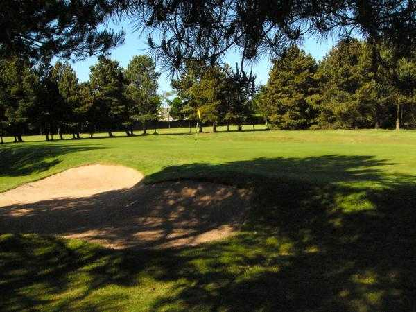 A view of the 6th hole at West End Golf Club